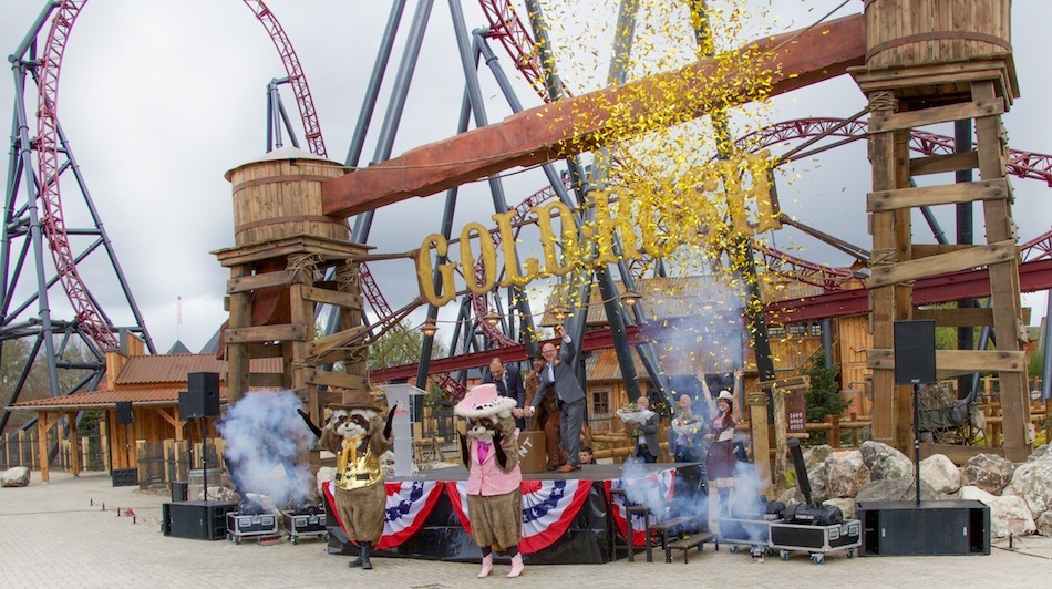 Slagharen Gold Rush Launch Coaster