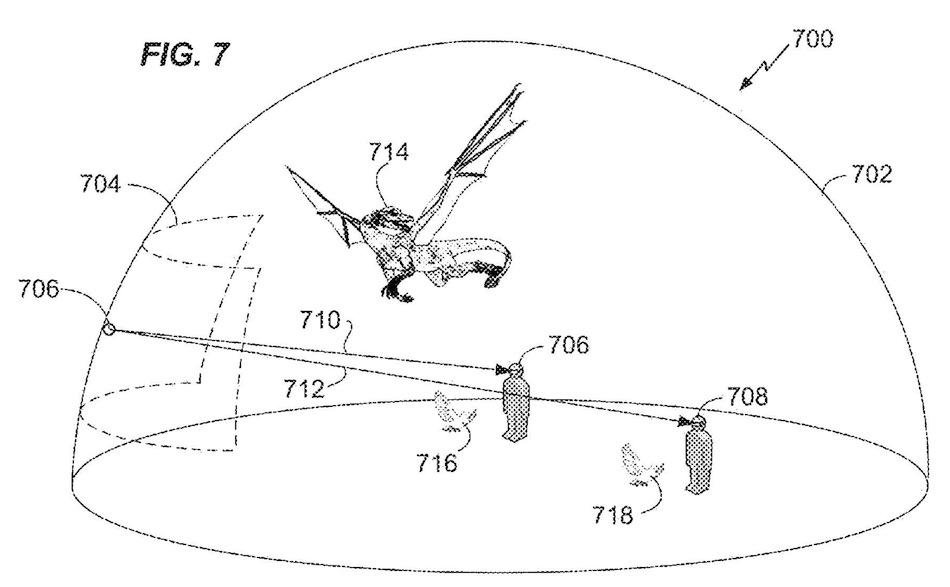 Warner Bros MIxed Reality Patent