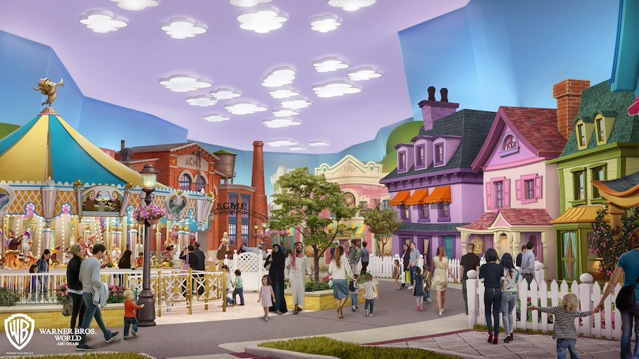 Warner Bros World Abu Dhabi Cartoon Junction