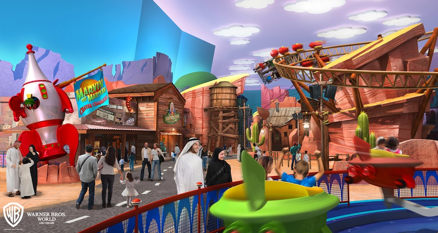 Warner Bros World Abu Dhabi Dynamie Gulch