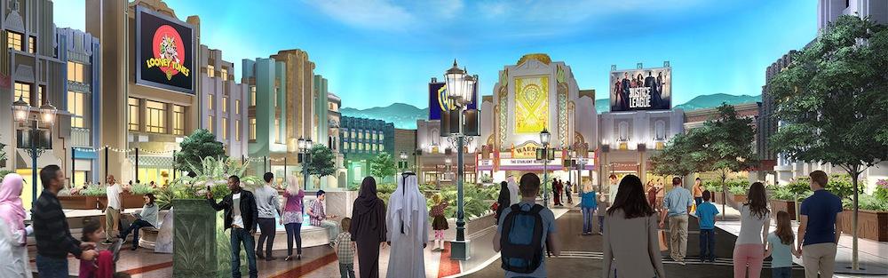 Warner Bros World Abu Dhabi Plaza. Miral.