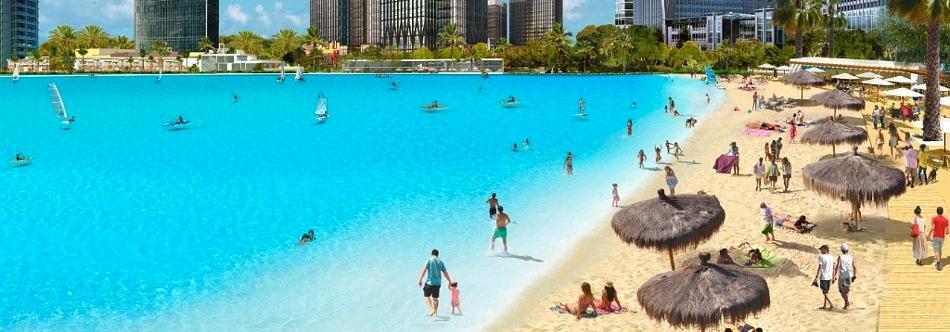 Crystal Lagoon Wynn Paradise Park