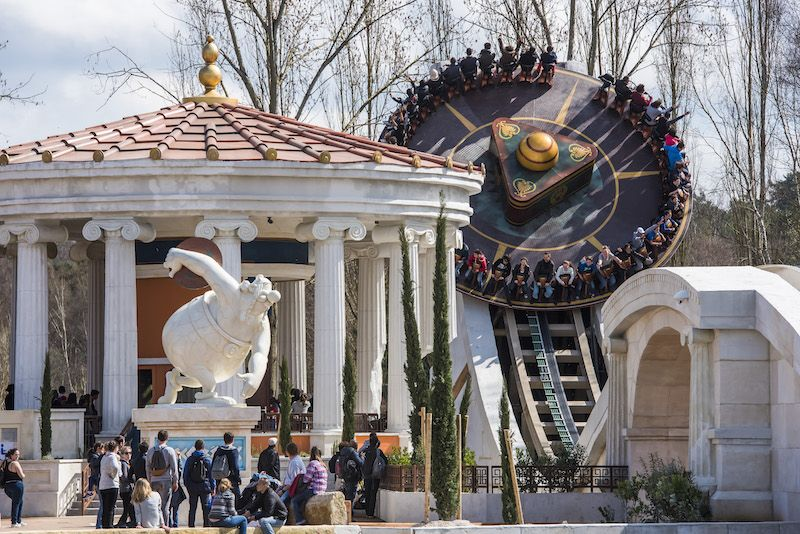 discobelix ride at parc asterix