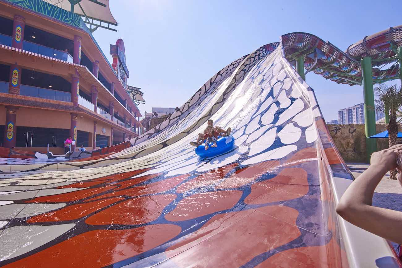 king cobra waterslide amaazia water park from polin
