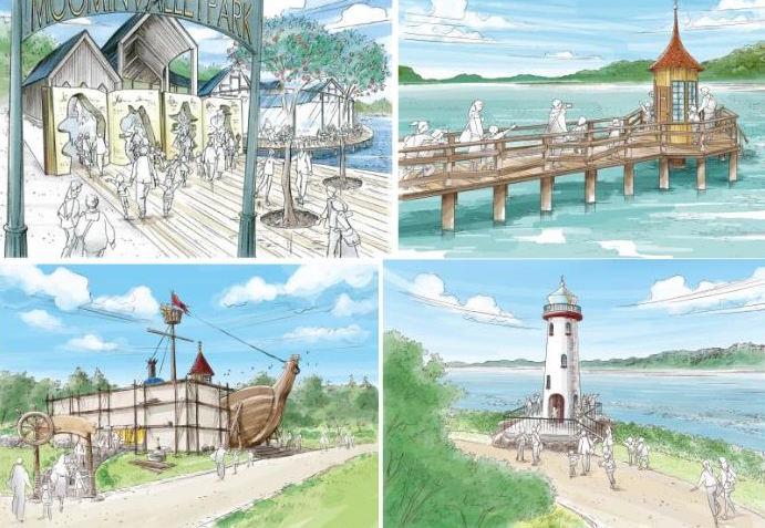 moomin theme park japan plans