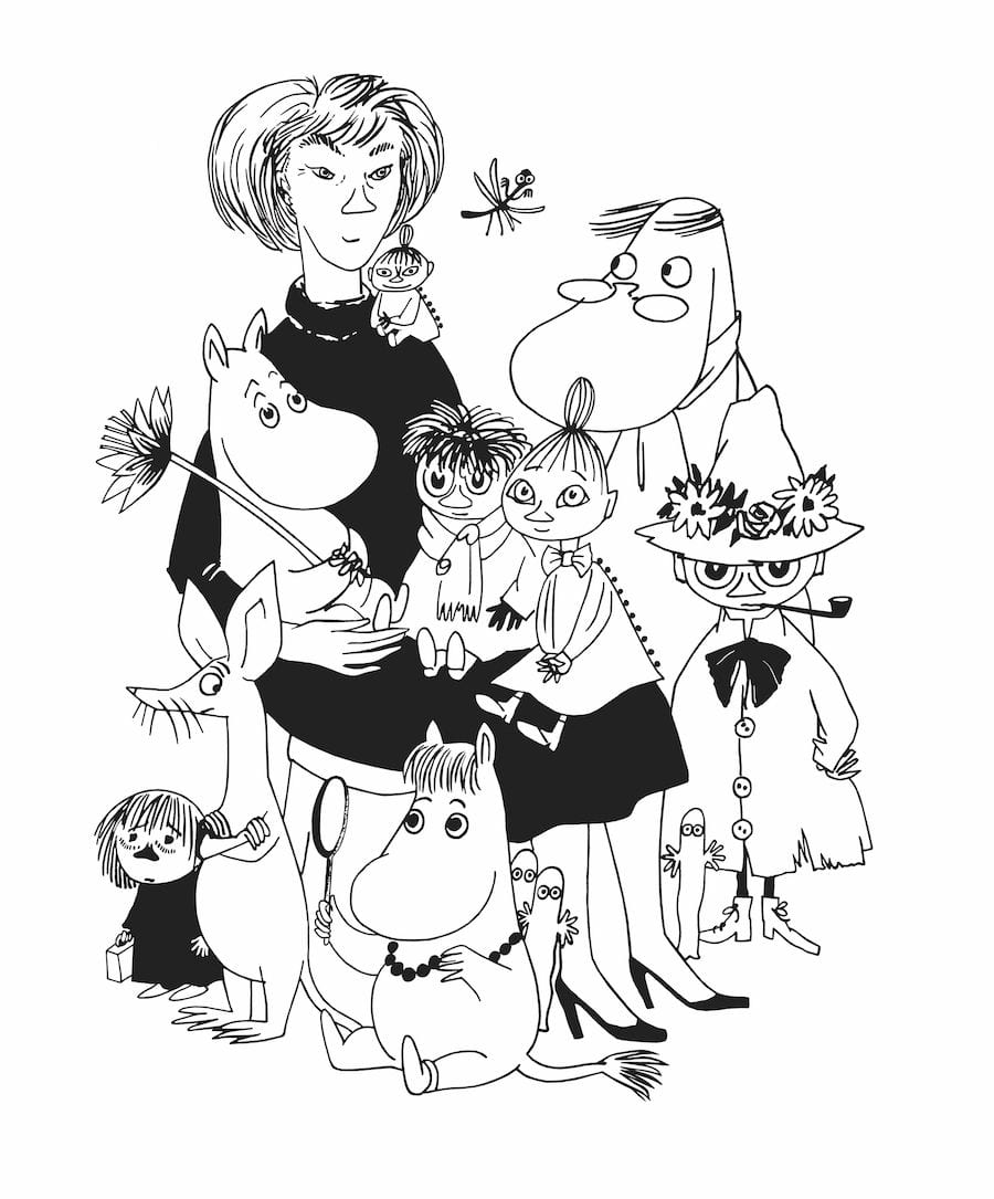 tove jansson and moomins