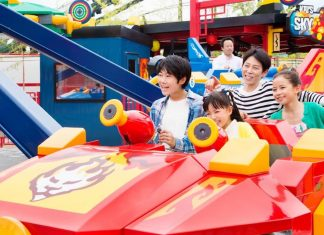 1 Official shot of Kai's Sky Masters at Legoland Japan