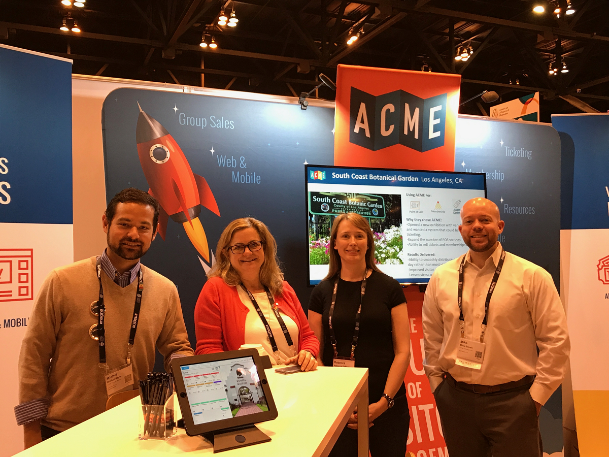ACME Ticketing team at AAM 2017