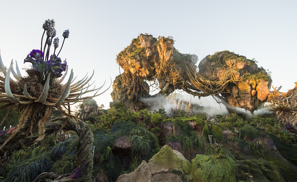 Floating Mountains are among the iconic features at Pandora – The World of Avatar