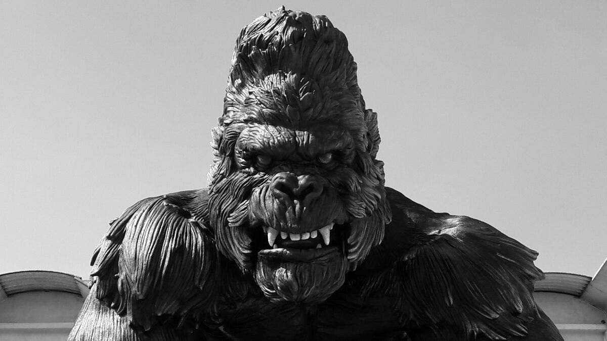EOS King Kong World Largest Animatronic
