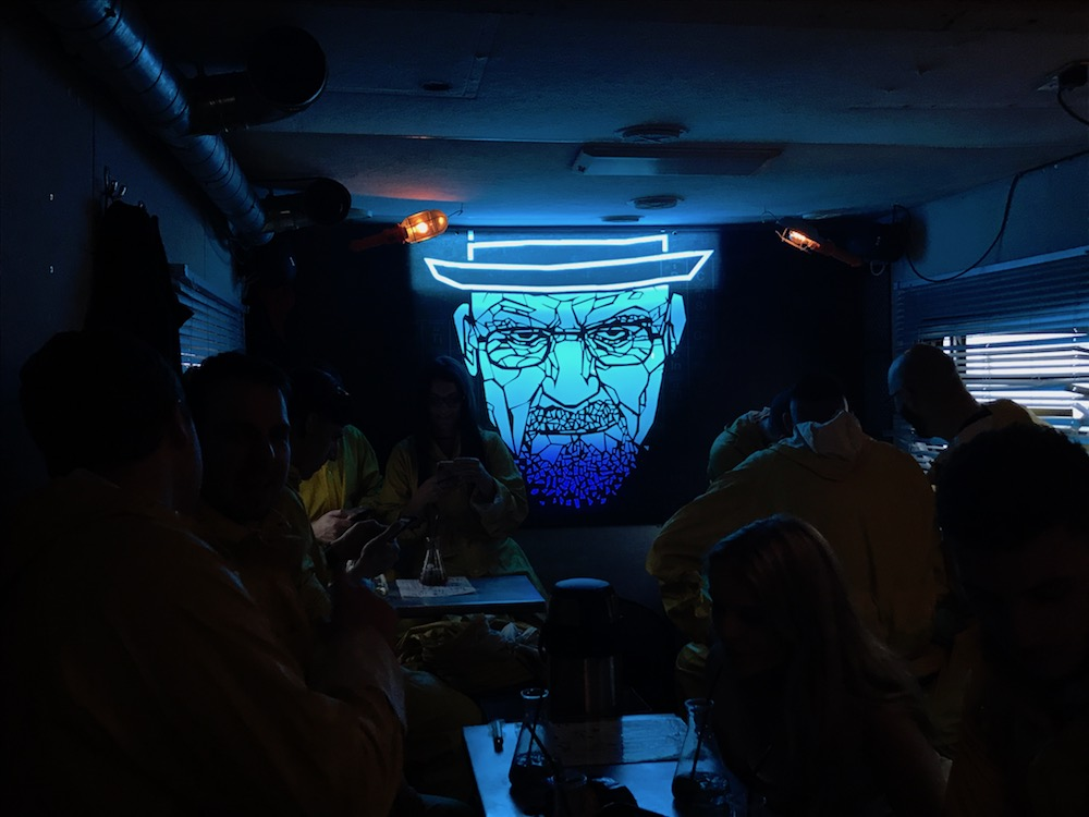 Heisenberg ABQ London Breaking bad bar