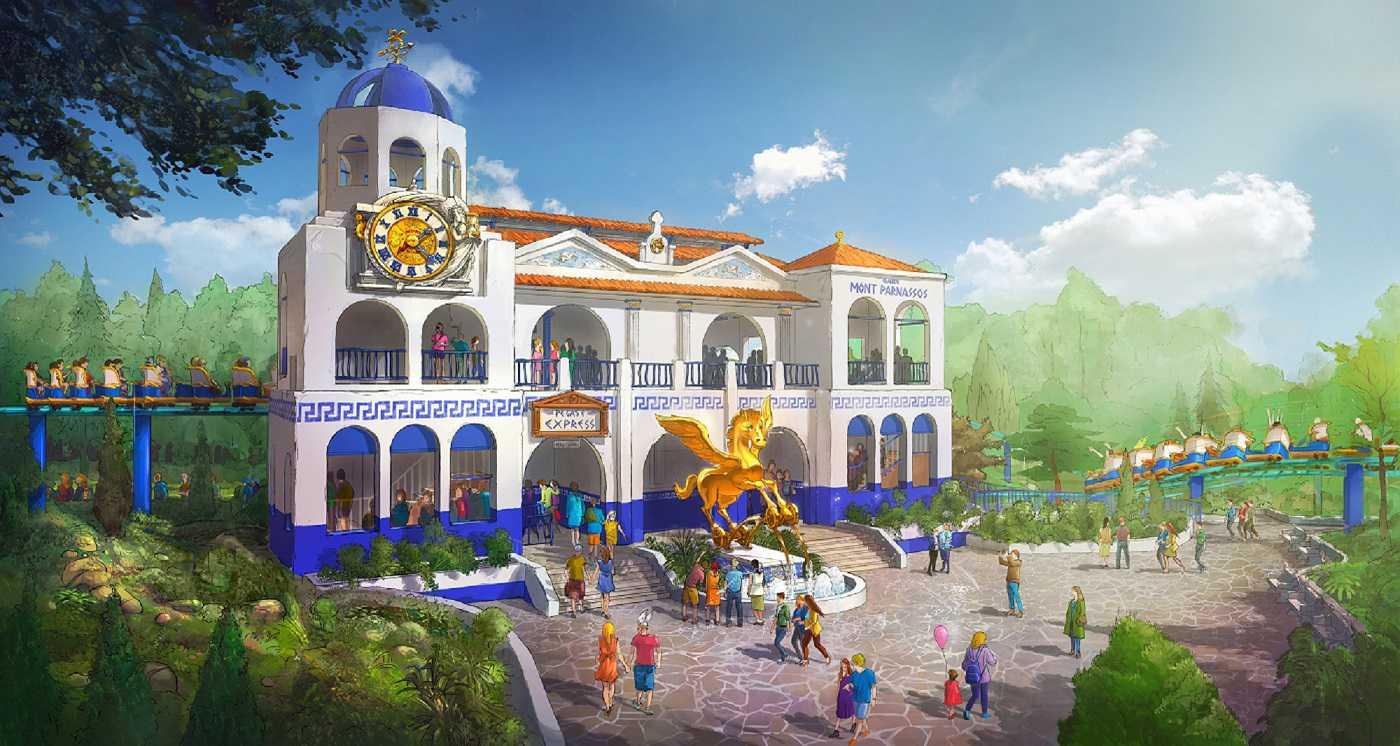 Jora Vision-designed mega coaster, Pégase Express, opens June in Parc Astérix