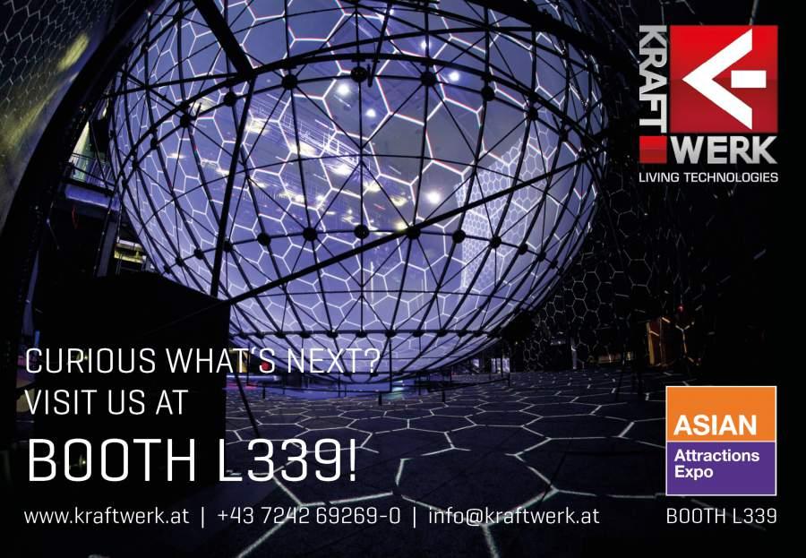Kraftwerk Living Technologies to showcase next-gen 4D VR motion seats and more at AAE Singapore