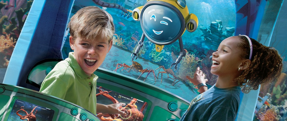 SeaWorld San Diego Ocean Explorer Key Visual