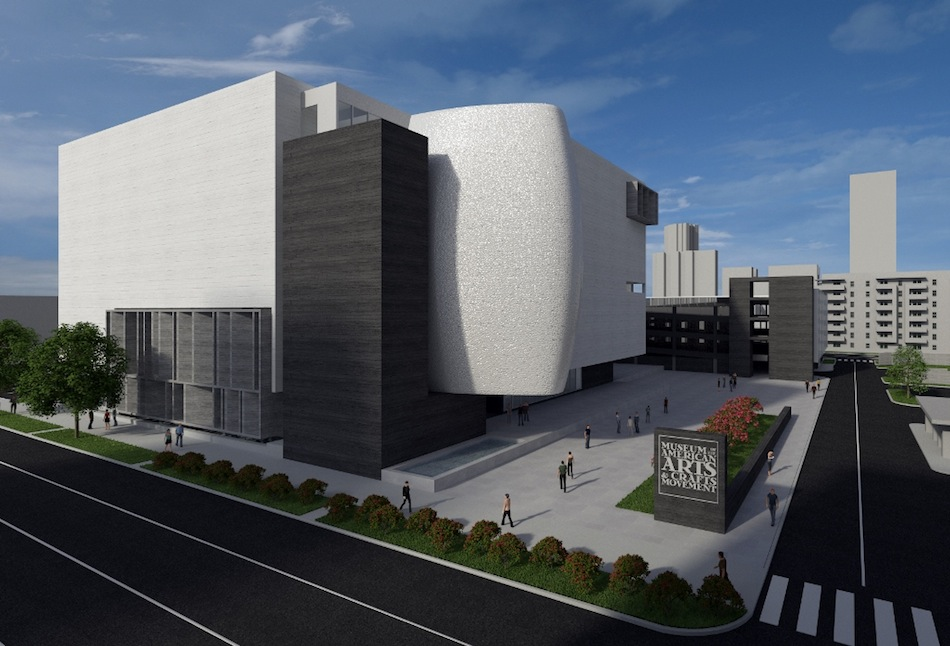 Construction Begins On Museum Of The American Arts And Crafts Movement