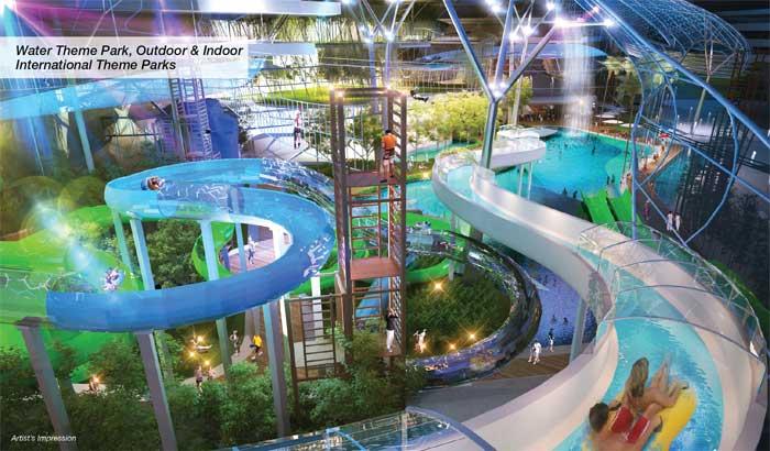 The TWO waterpark malaysia DA Land