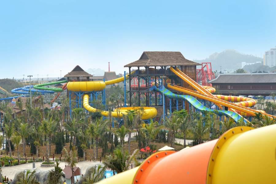 Arihant supplies 12 custom slides to Sun Group's newly opened Typhoon Waterpark, Vietnam