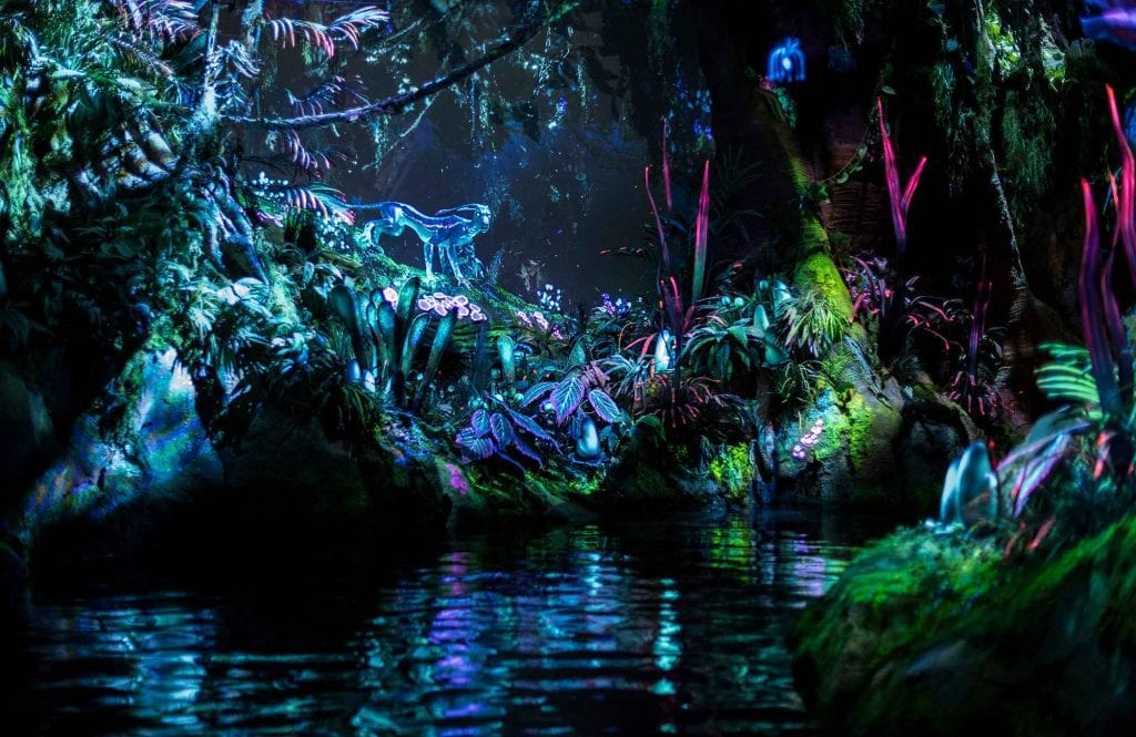 boat ride Disney pandora at magic kingdom, number 7 on our list of the world's top theme parks of the decade