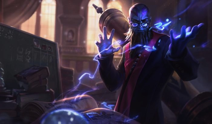 esports theme park Tencent Ryze_Professor_Splash_Riot Games