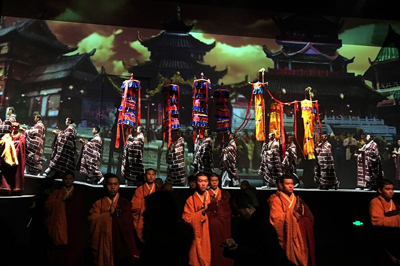 Digital Projection illuminates a thousand years of Buddist history in China's oldest pagoda