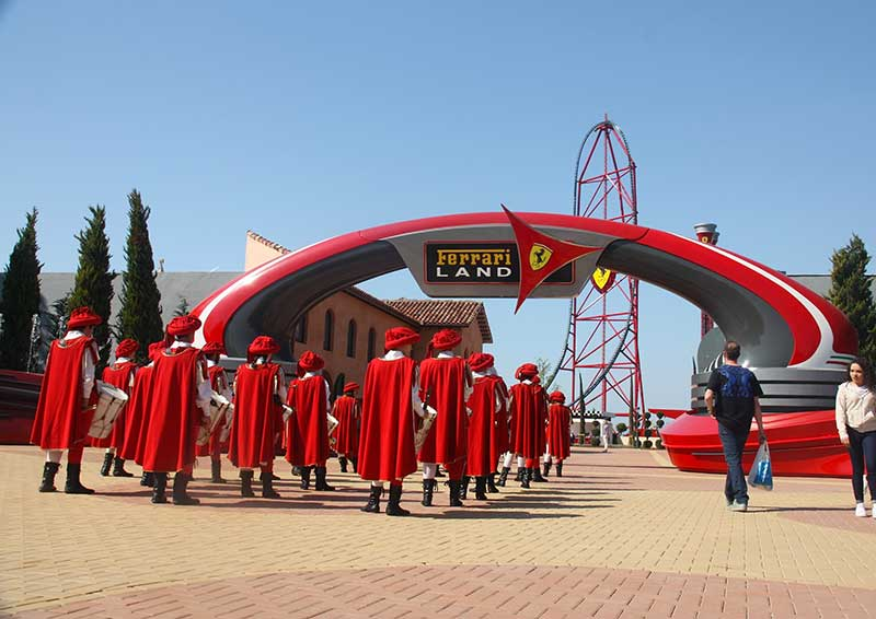 ferrari land puts portaventura into full throttle as europe 39 s only three park resort blooloop. Black Bedroom Furniture Sets. Home Design Ideas