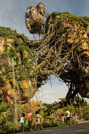 floating islands Disney pandora magic kingdom Connect to Protect