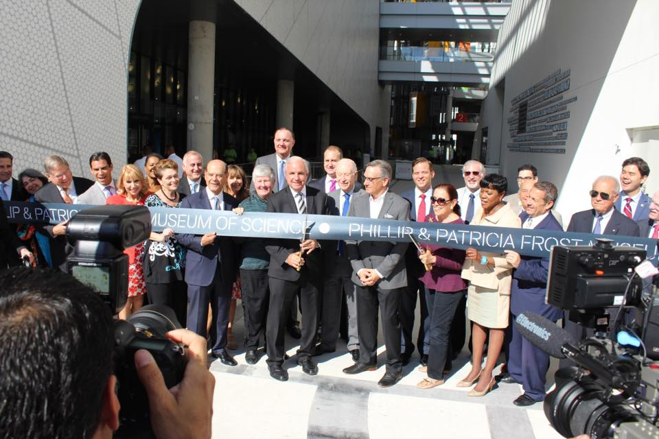 Warm celebrations as Frost Science Museum finally opens in Miami