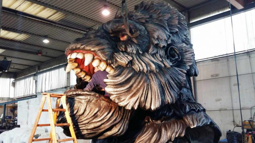 World's Largest Animatronic EOS Rides