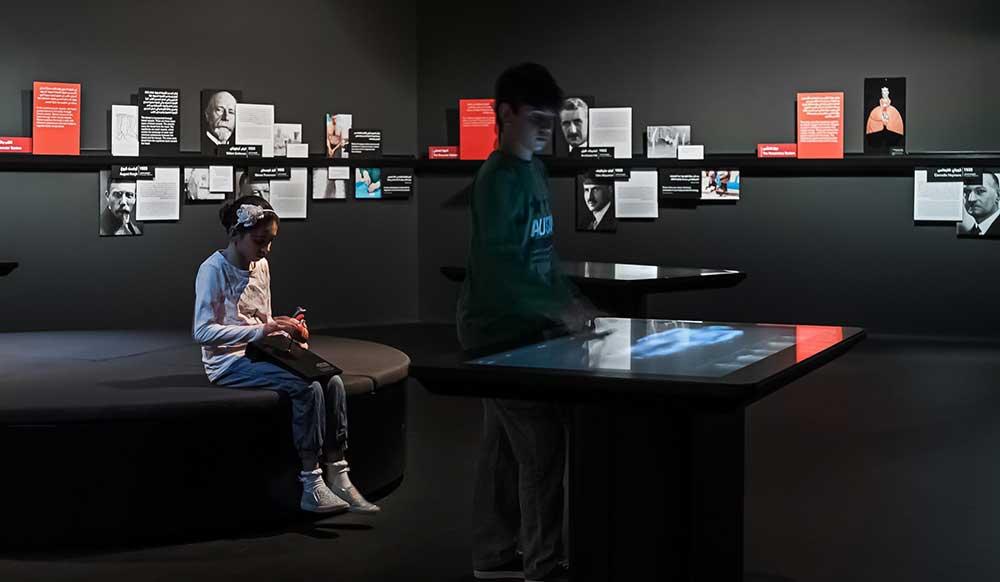 explorer inside nobel museum
