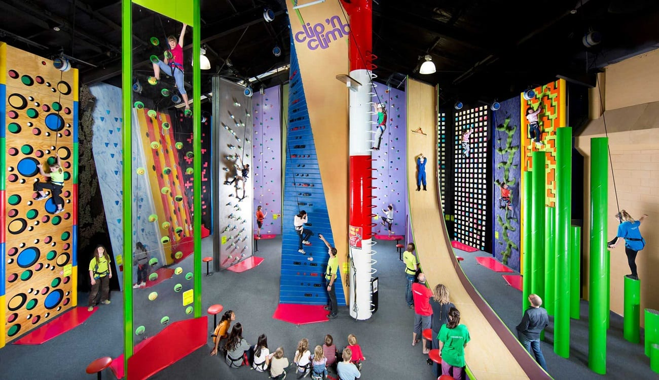 Clip N Climb Climbing Walls And Challenges Attraction