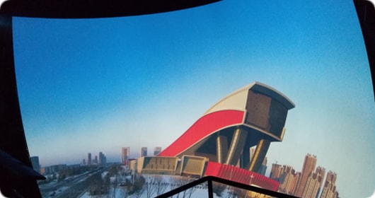 Over 100 Christie projectors light up two major attractions at Harbin Wanda Cultural Tourism City