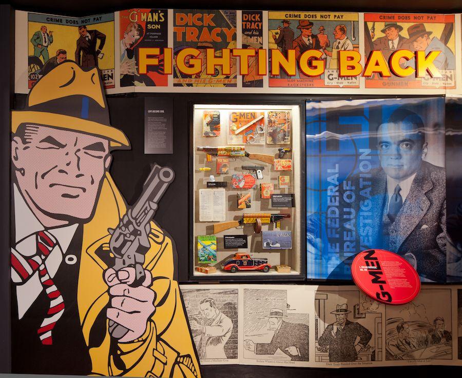 g-men toys at mob museum lasvegas