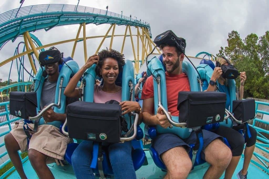 Kraken VR SeaWorld Orlando