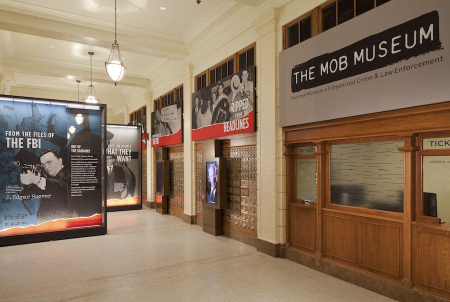 mob museum lobby