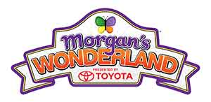 Morgan's Wonderland logo toyota
