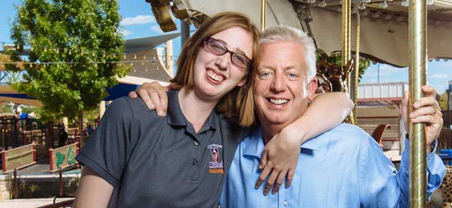Morgan's Wonderland: Morgan and Gordon Hartman