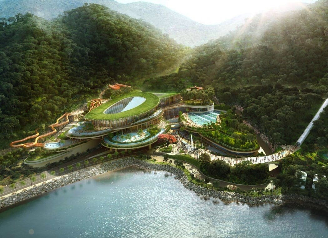 Ocean Park Tai Shue Wan Water World waterpark digital imaging