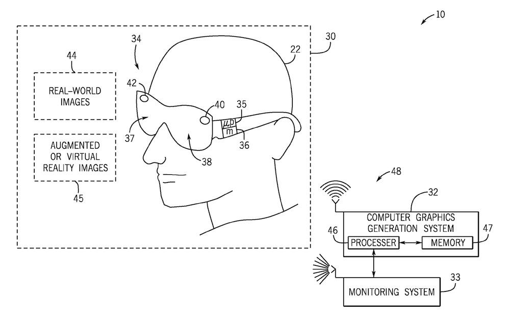 Universal AR VR patent 1