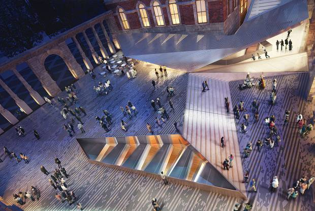 V&A's new £48 million underground gallery an overwhelming success