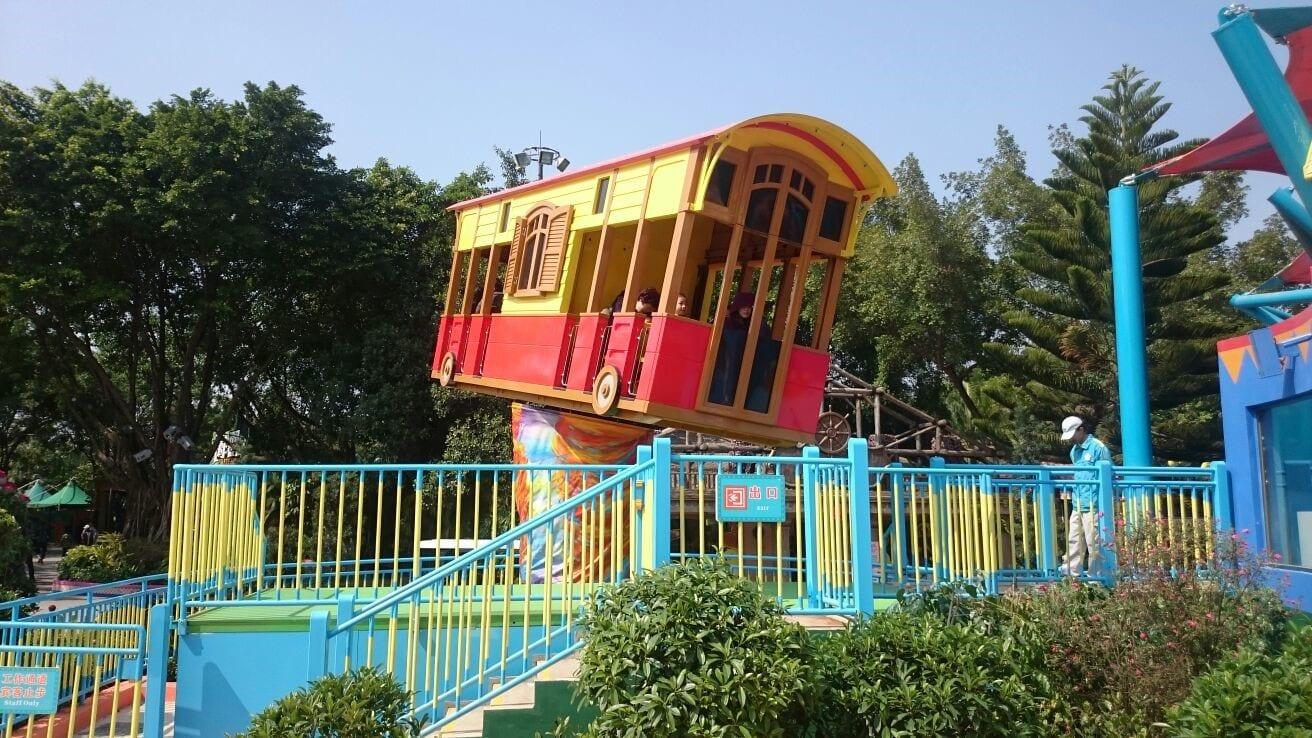 Custom-themed Barnyard at Chimelong Paradise