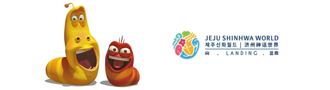 TRIOTECH to create two major Larva-themed attractions for Jeju Shinhwa World theme park