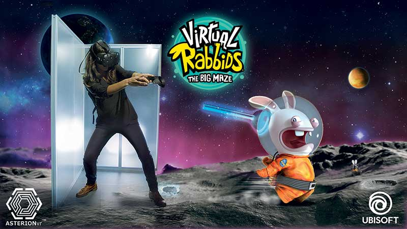 virtual rabbids the big maze virtual arcade ubisoft