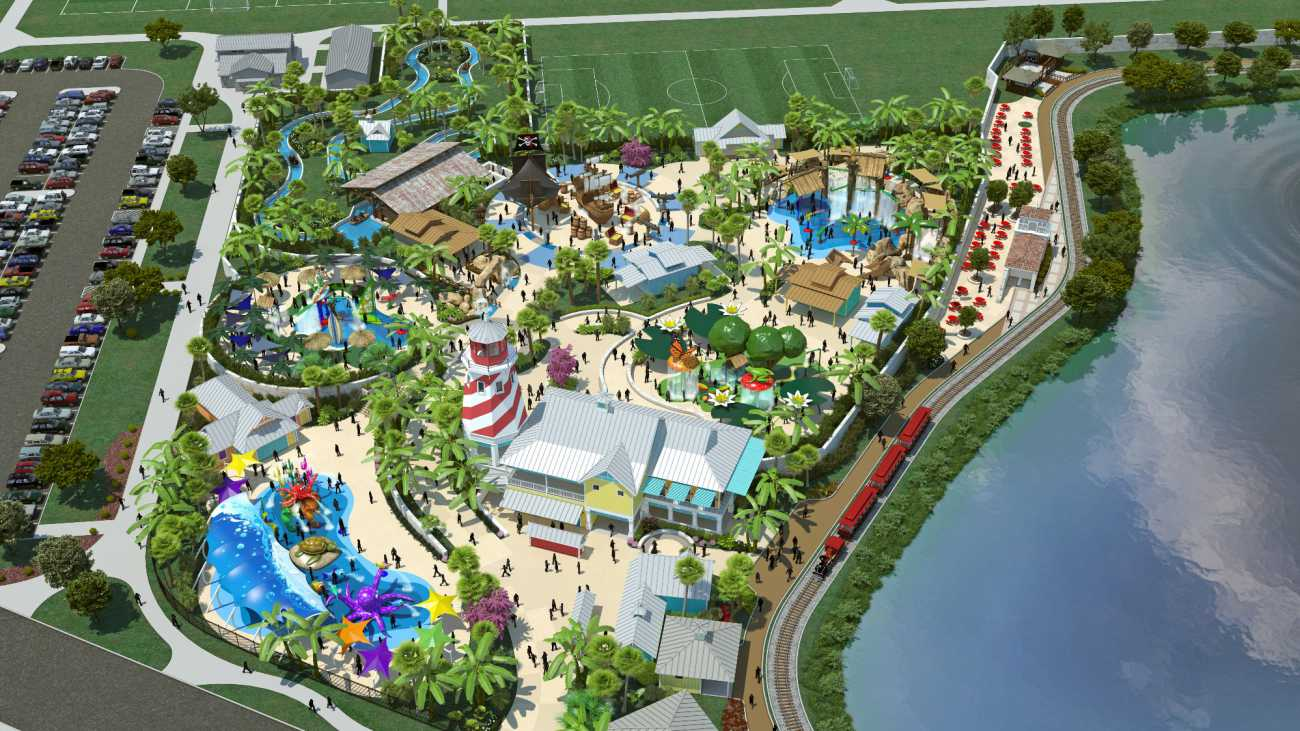 Morgan's Inspiration Island : Morgan's Wonderland opens world's first ultra-accessible splash park