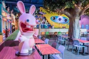 rabbids amusement centre montreal fec cafe ubisoft