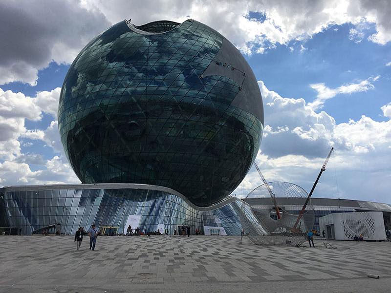 sphere structure 2017 astana
