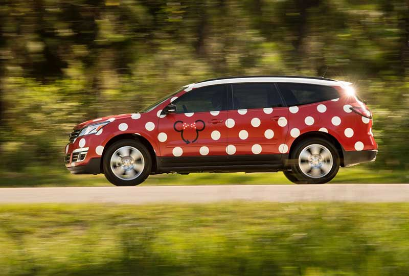 Walt Disney World Minnie Van
