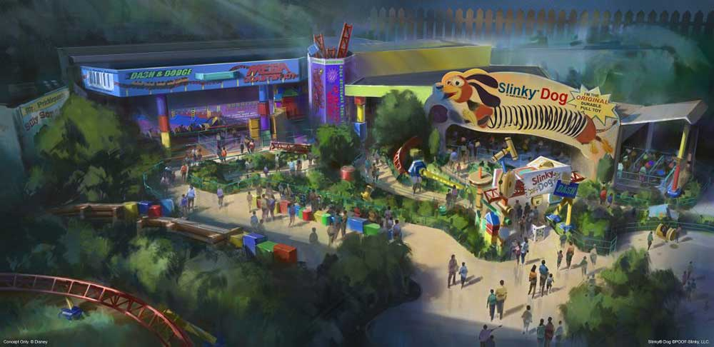 Walt Disney World Toy Story Land