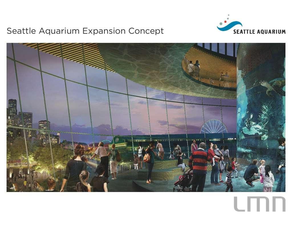 seattle aquarium expansion lmn architects