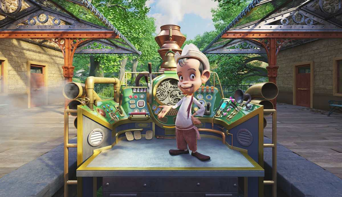 Anima Studios VR Cantinflas Presents The Time Machine
