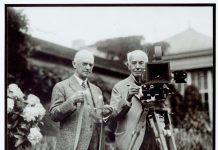 eastman and edison kodakcolor party 1928